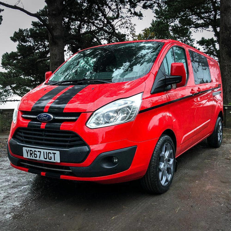 Rev Comps Competition 2017 Ford Transit Custom 6 Seater Crew Cab Van Win Cars Bikes Vans