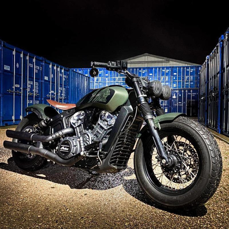 Rev Comps Competition 2020 Indian Custom Scout Bobber 20 Win Cars Bikes Vans