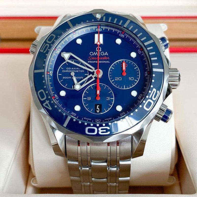 Rev Comps Competition Brand New 2020 Omega Seamaster 44mm Watch Win Cars Bikes Vans