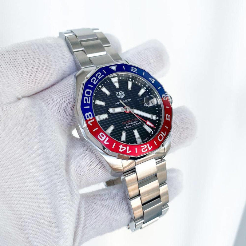 Rev Comps Competition Brand New 2020 TAG Heuer Aquaracer Pepsi Win Cars Bikes Vans