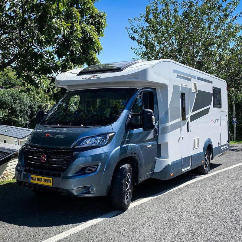 Rev Comps Competition Brand New Rollerteam T-Line 4 Berth Motorhome Win Cars Bikes Vans