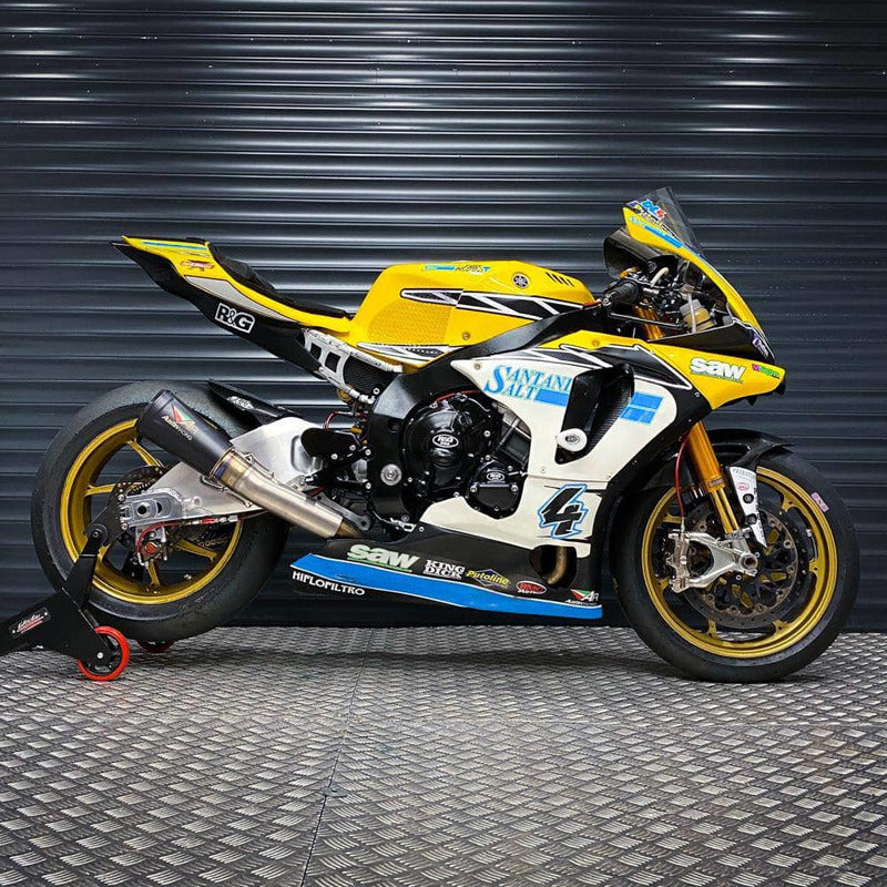 Rev Comps Competition Dan Lindford's British Superbike 2019 R1 Win Cars Bikes Vans