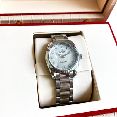 Rev Comps Competition New Omega Seamaster Aqua Terra Ladies Watch Win Cars Bikes Vans