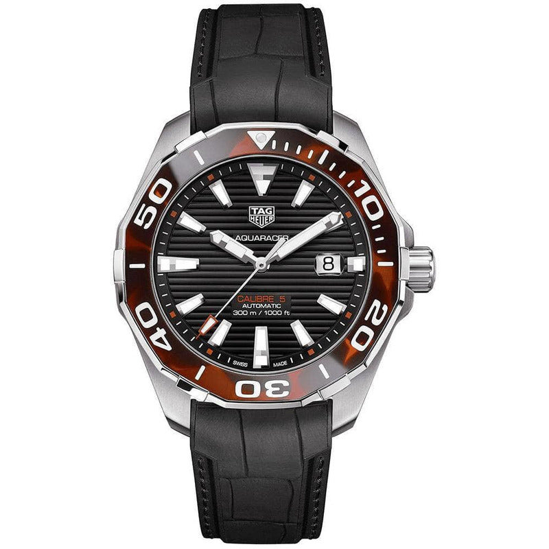 Rev Comps Competition NEW TAG Heuer Aquaracer 43mm Tortoise Win Cars Bikes Vans