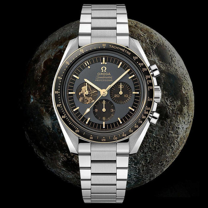 Rev Comps Competition Omega Apollo 11 50th Anniversary Speedmaster Watch #2183 Win Cars Bikes Vans