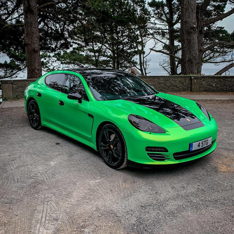 Rev Comps Competition Porsche Panamera 3.0L V6 TIPTRONIC Acid Lime Win Cars Bikes Vans
