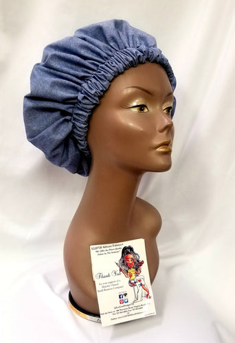 Beauty Denim Bonnet