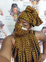 FEMILU Headwrap & Choker Set