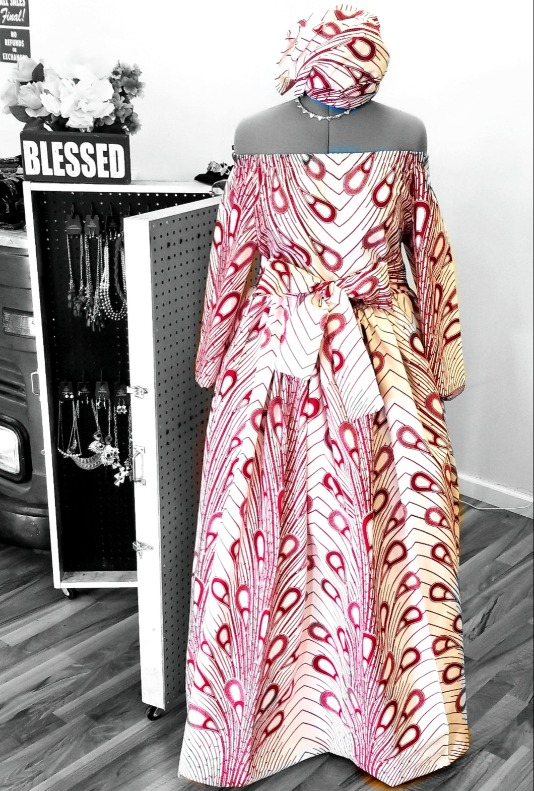 AMINA- RED RAY OF SHINE