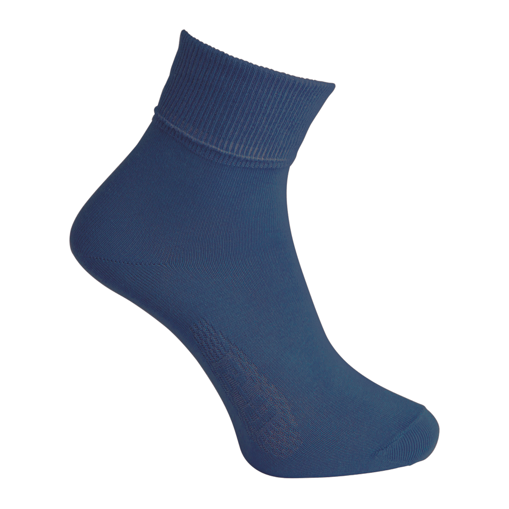 Navy Ankle Socks - Twin Pack
