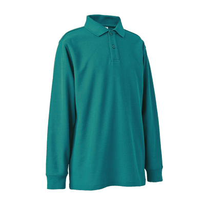 Long Sleeve Polo Shirt - ROCKLEY