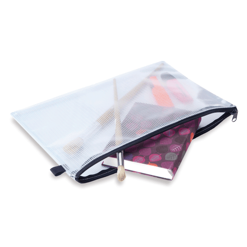 See Through Zip Folio