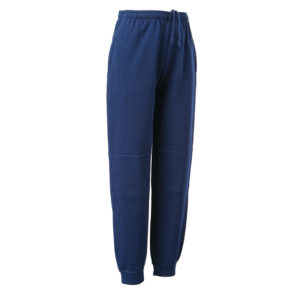 Double Knee Cuff Track Pants - BOTANY