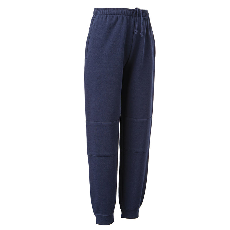 Track Pants - Cuff Double Knee