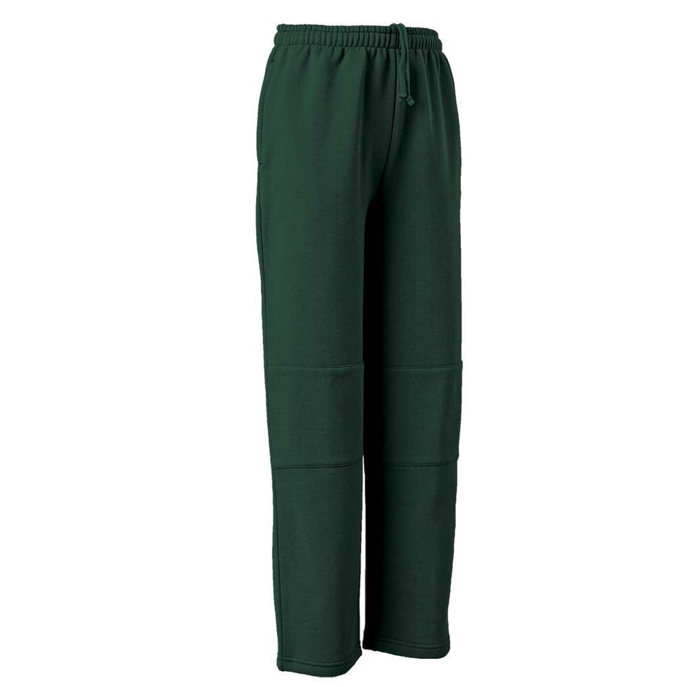 Double Knee Straight Leg Track Pants - AUBURN