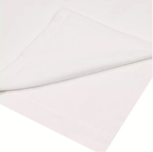 White Bed Sheet (Flat)