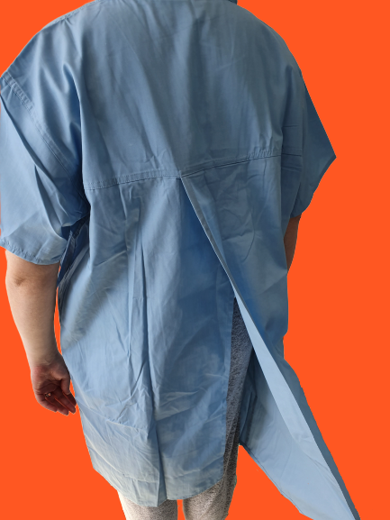 Light Blue Surgical Gown