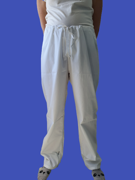 White Medical Trousers
