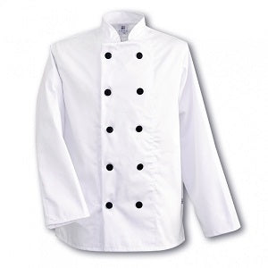 Complete Chef's Outfit - White Jacket & Hat