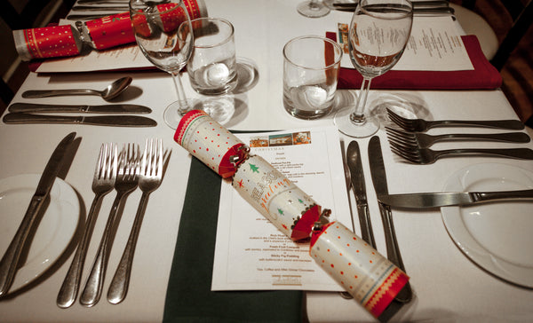 "Christmas Dinner Tablecloth (70"" x 70"") + Napkin Set"