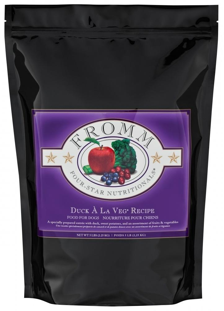 Fromm | Four-Star Duck A La Veg Dry Dog Food