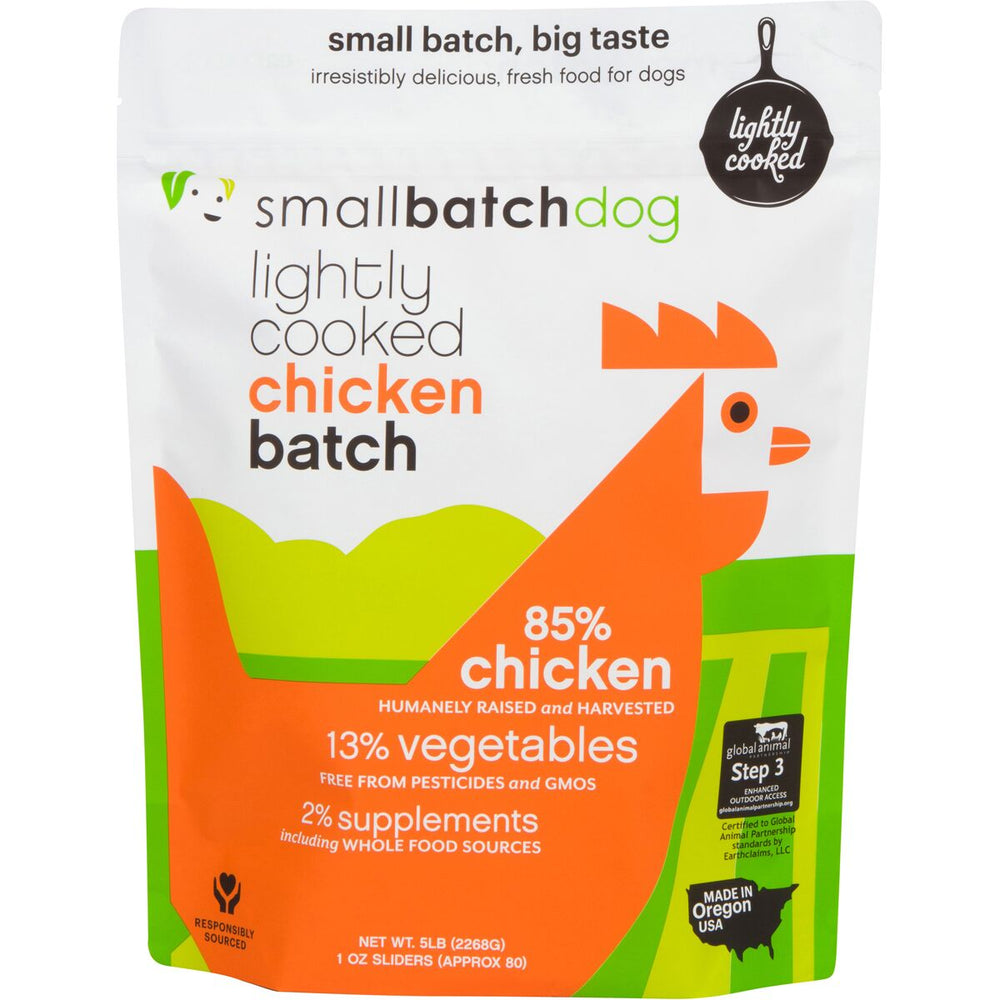Small Batch | Lightly Cooked Chicken Batch (frozen)