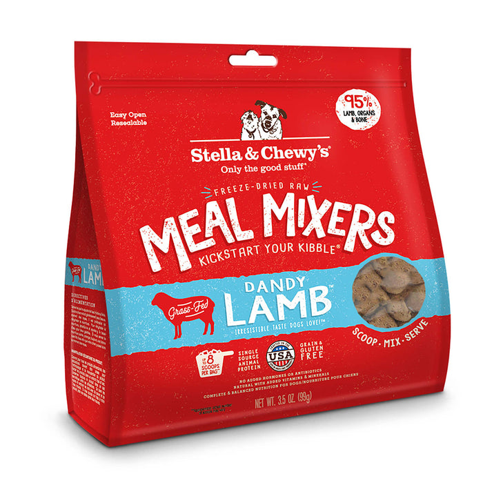 Stella & Chewy's | Dandy Lamb Meal Mixers Freeze-Dried Dog Food