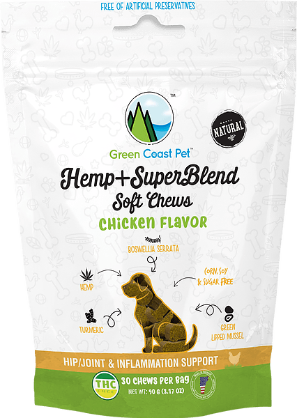 Green Coast Pet | Hemp + SuperBlend Soft Chew