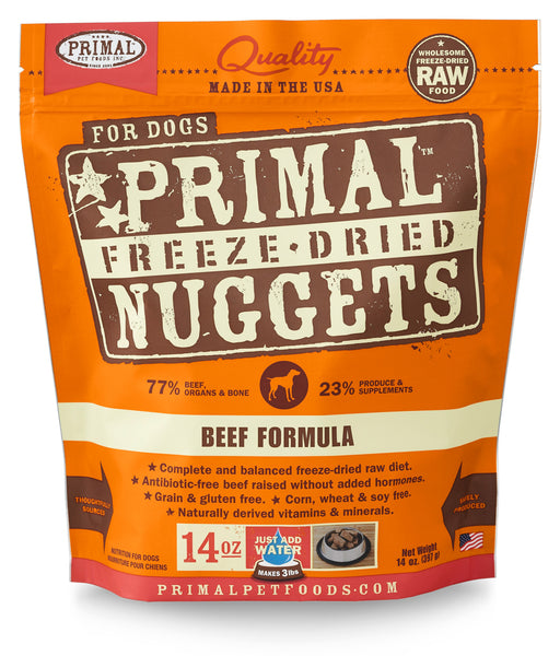 Primal | Beef Freeze-Dried Dog Food 14 oz