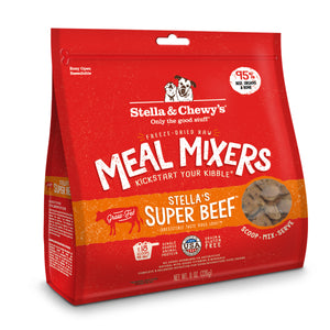 Stella & Chewy's | Stella's Super Beef Meal Mixers Freeze-Dried Dog Food