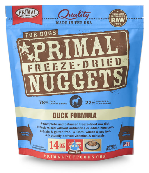 Primal | Duck Freeze-Dried Dog Food 14 oz