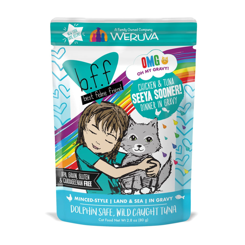 Weruva | Chicken & Tuna B.F.F. OMG Wet Cat Food