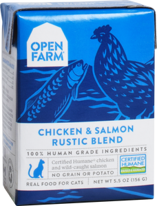 Open Farm | Chicken & Salmon Rustic Blend for Cats