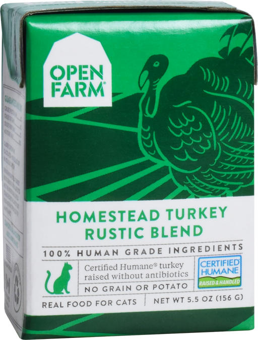 Open Farm | Homestead Turkey Rustic Blend for Cats