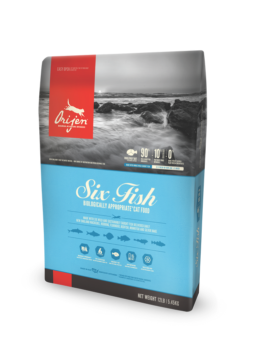 Orijen | Six Fish Grain-Free Dry Cat Food