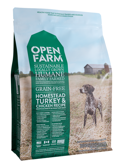 Open Farm | Turkey & Chicken Grain-Free Dog Food