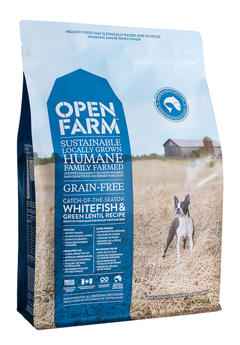 Open Farm | Whitefish & Green Lentil Grain-Free Dog Food