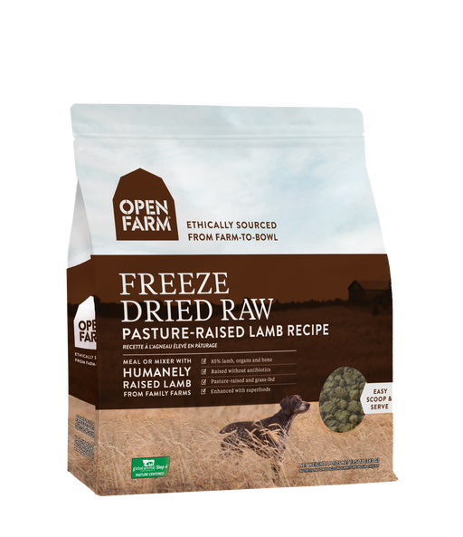 Open Farm | Pasture-Raised Lamb Freeze-Dried Raw Dog Food