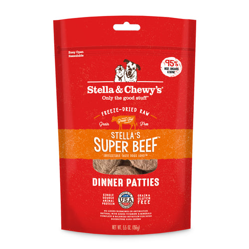 Stella & Chewy's | Stella's Super Beef Freeze-Dried Dog Food
