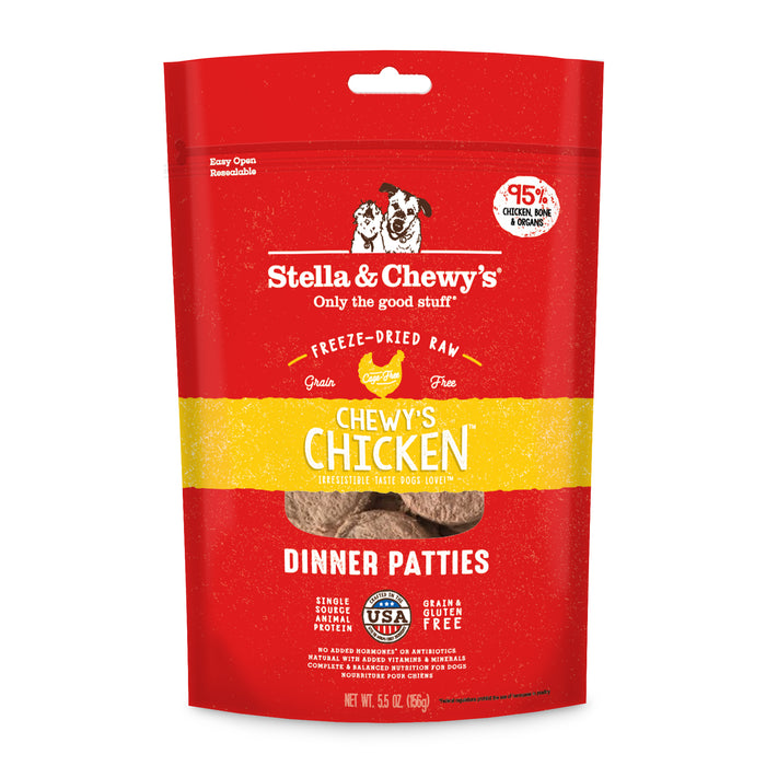 Stella & Chewy's | Chewy's Chicken Freeze-Dried Dog Food