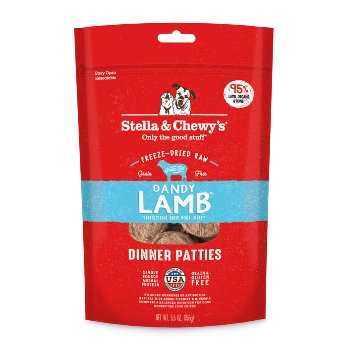 Stella & Chewy's | Dandy Lamb Freeze-Dried Dog Food