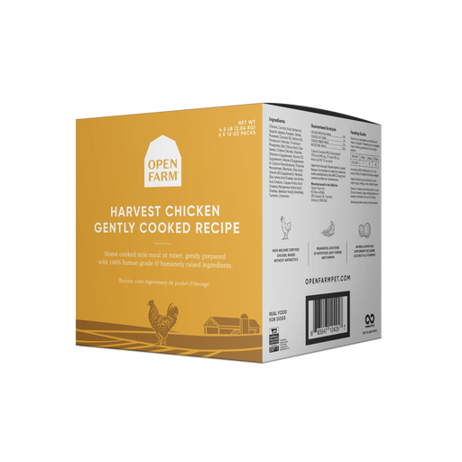 Open Farm | Gently Cooked Chicken (frozen)