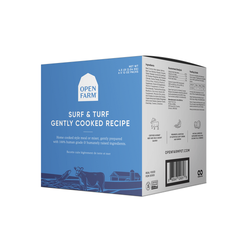 Open Farm | Gently Cooked Surf & turf (frozen)