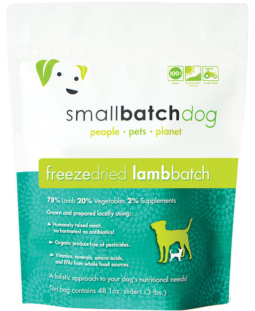 Small Batch | Lamb Batch Freeze-Dried Sliders 14 oz