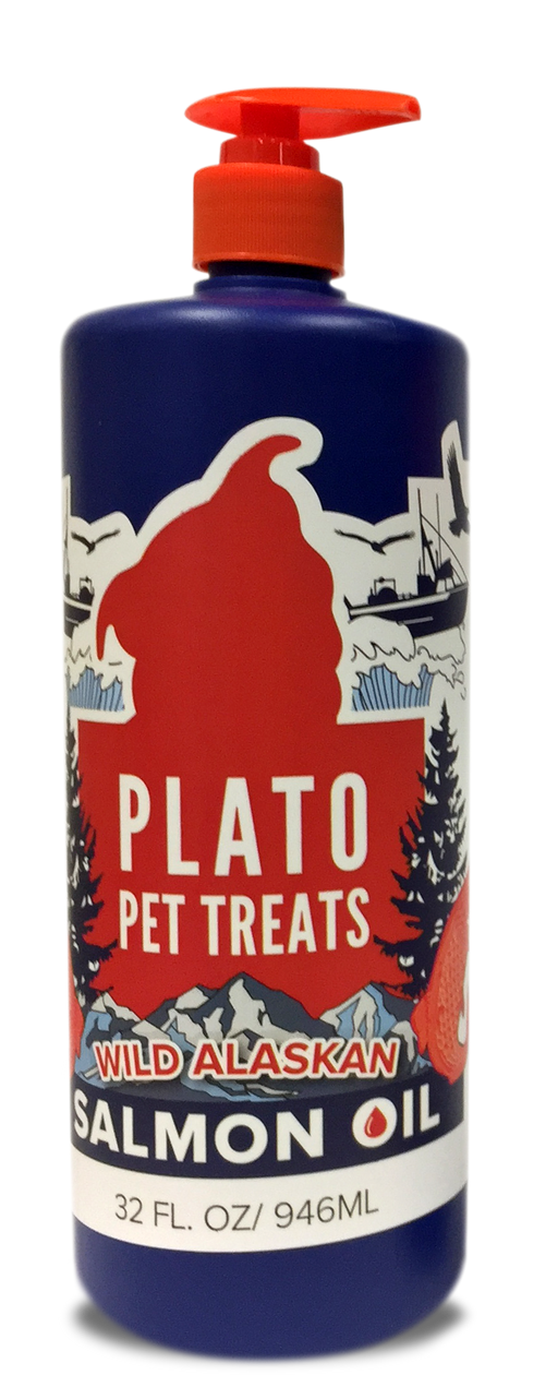 Plato Pet Treats | Wild Alaskan Salmon Oil