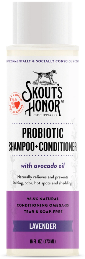 Skout's Honor | Lavender 2-in-1 Probiotic Shampoo & Conditioner
