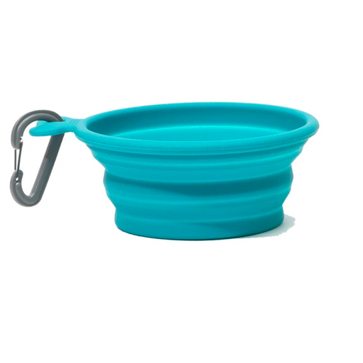 Messy Mutts | Collapsible Bowl - Blue