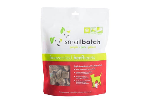 Small Batch | Freeze-Dried Beef Heart Treats 3.5 oz