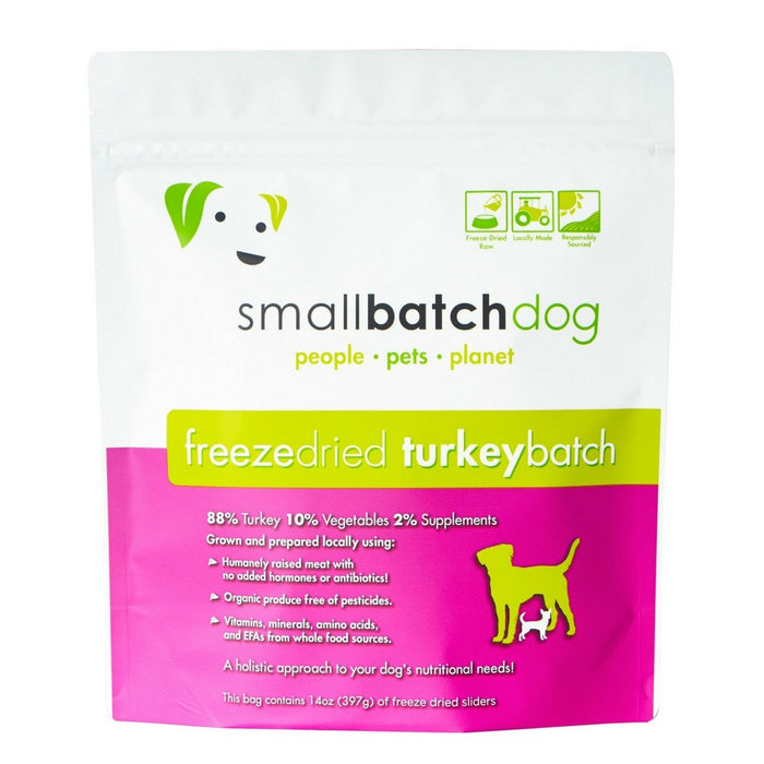 Small Batch | Turkey Batch Freeze-Dried Sliders 14 oz