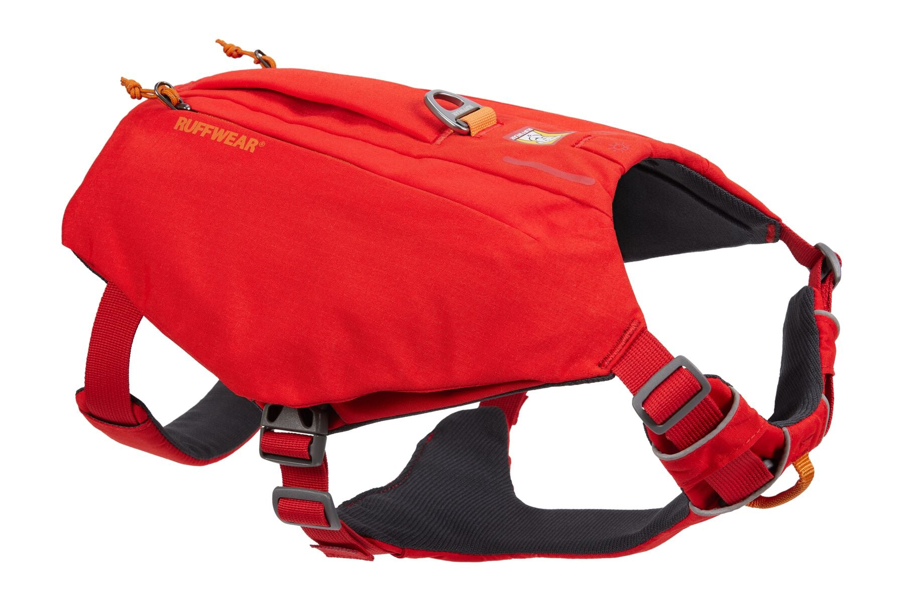 Ruffwear | Switchbak™ Dog Harness w/ Pockets - Red Sumac